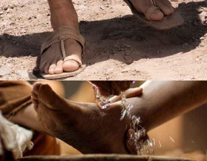 Мыть или не мыть ноги?