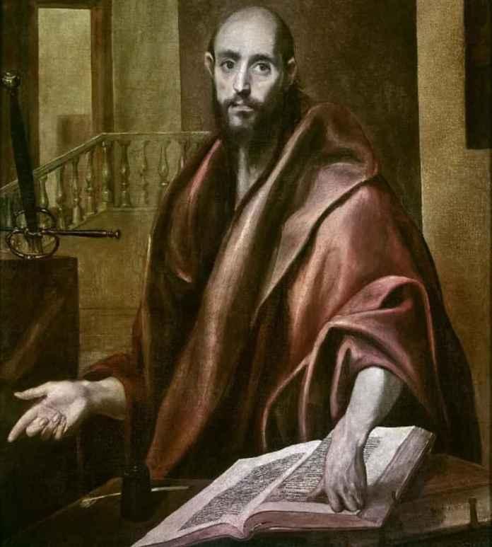 """""""Апостол Павел"""" - Эль Греко"""