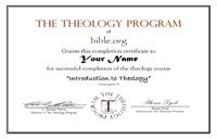 Ttp Certificate Student Information Bible Org