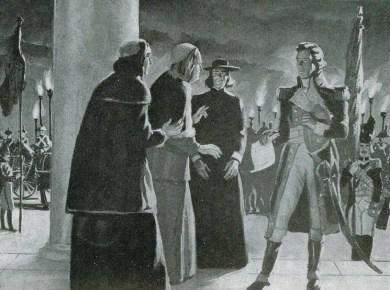 General Bartier - Pope Pius - 1708