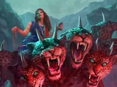 Woman Beast of Revelation