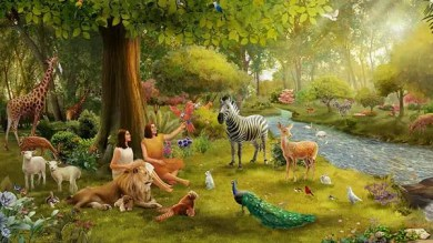 Adam and Eve keep the Sabbath