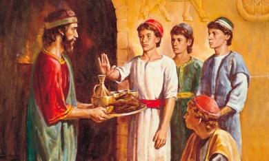 Daniel refuse kings food