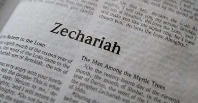 Zechariah, eight visions