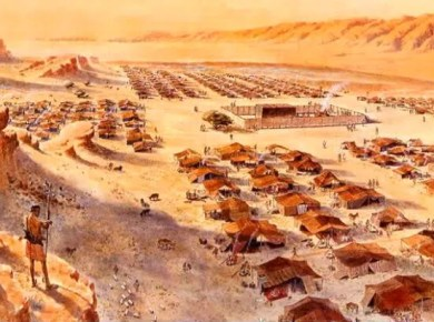 Israelites 40 years in the wilderness