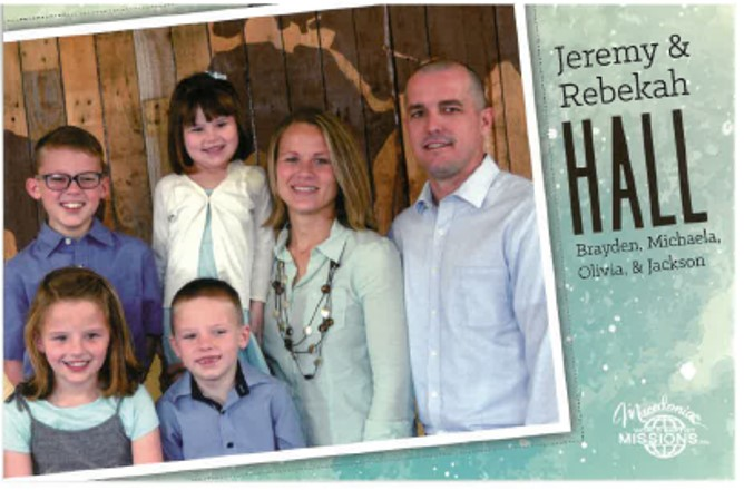 Jeremy & Rebekah Hall