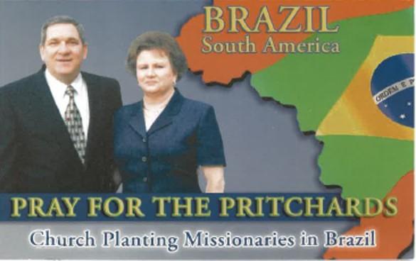 Paul & Sharon Pritchard