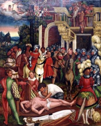 Martyrdom of St. Erasmus (2)