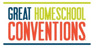 Great Homeschool Conventions text logo