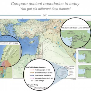 Holy Land Maps Past and Present