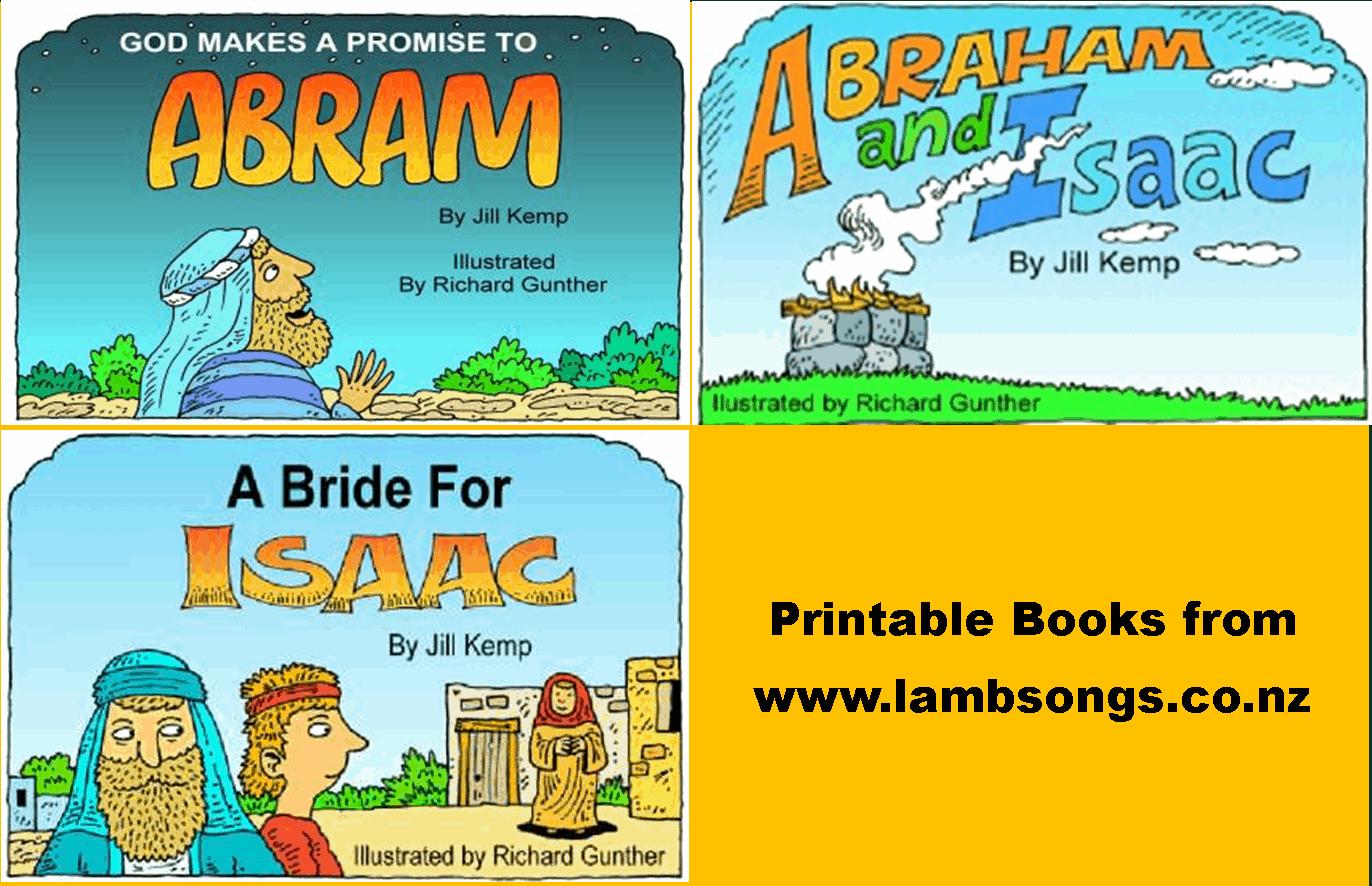 Sunday School Crafts For Abraham Sarah And Isaac