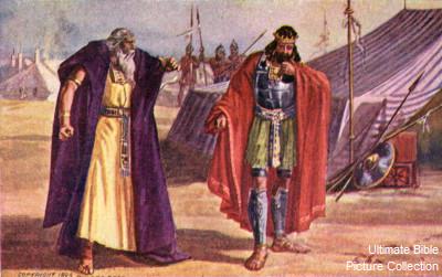 Bilderesultat for samuel and saul
