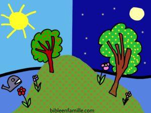Bible en famille - La création - Dessin