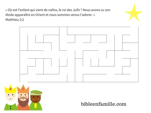 bibleenfamille - Labyrinthe Mages