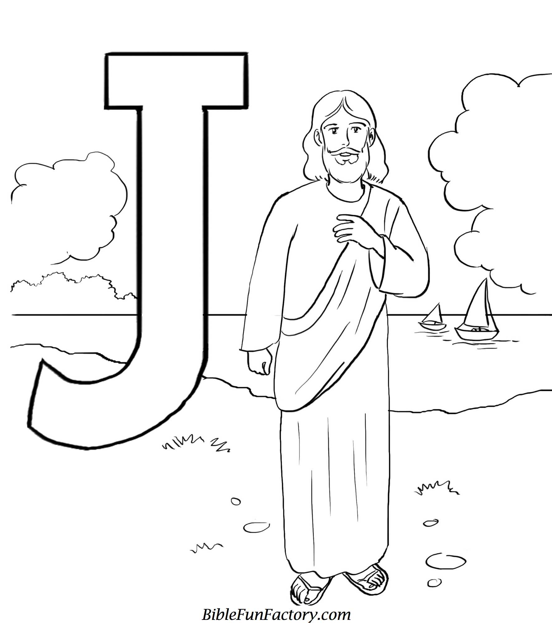 Free Jesus Coloring Pages Bible Lessons Games And Activities