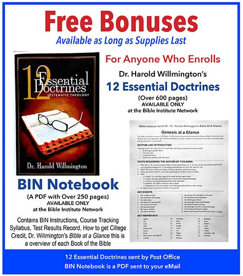 Online Bible Study with Diploma - Bible Institute Network