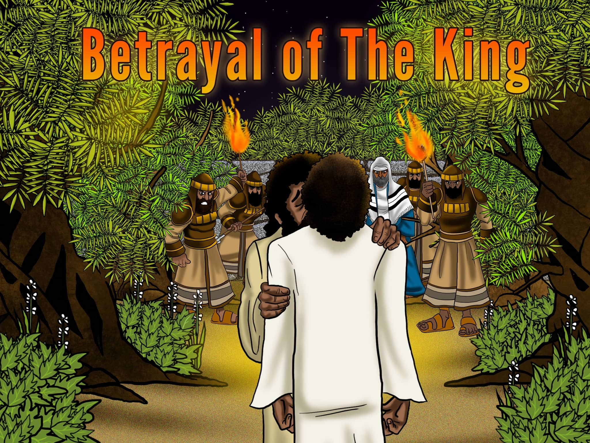 Bible Story Video Betrayal Of The King