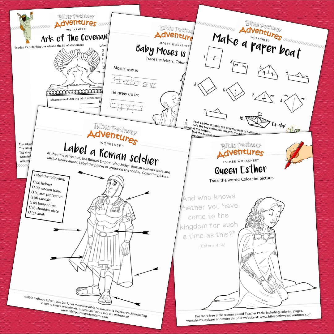 Bible Worksheets For Kids Free Biblical Resources For Families