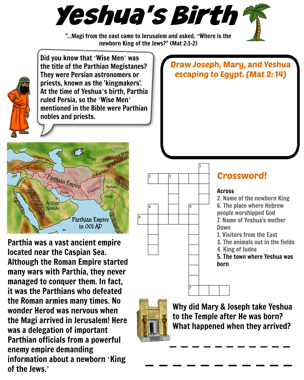 Yeshua S Birth Parthian Empire Bible Pathway Adventures