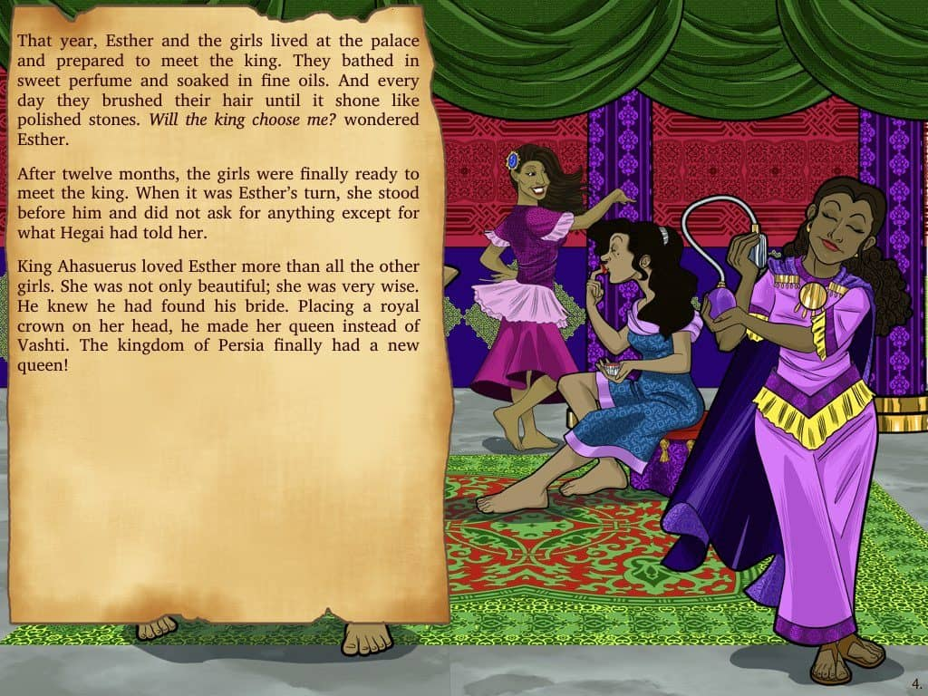 Bible Stories For Kids Esther