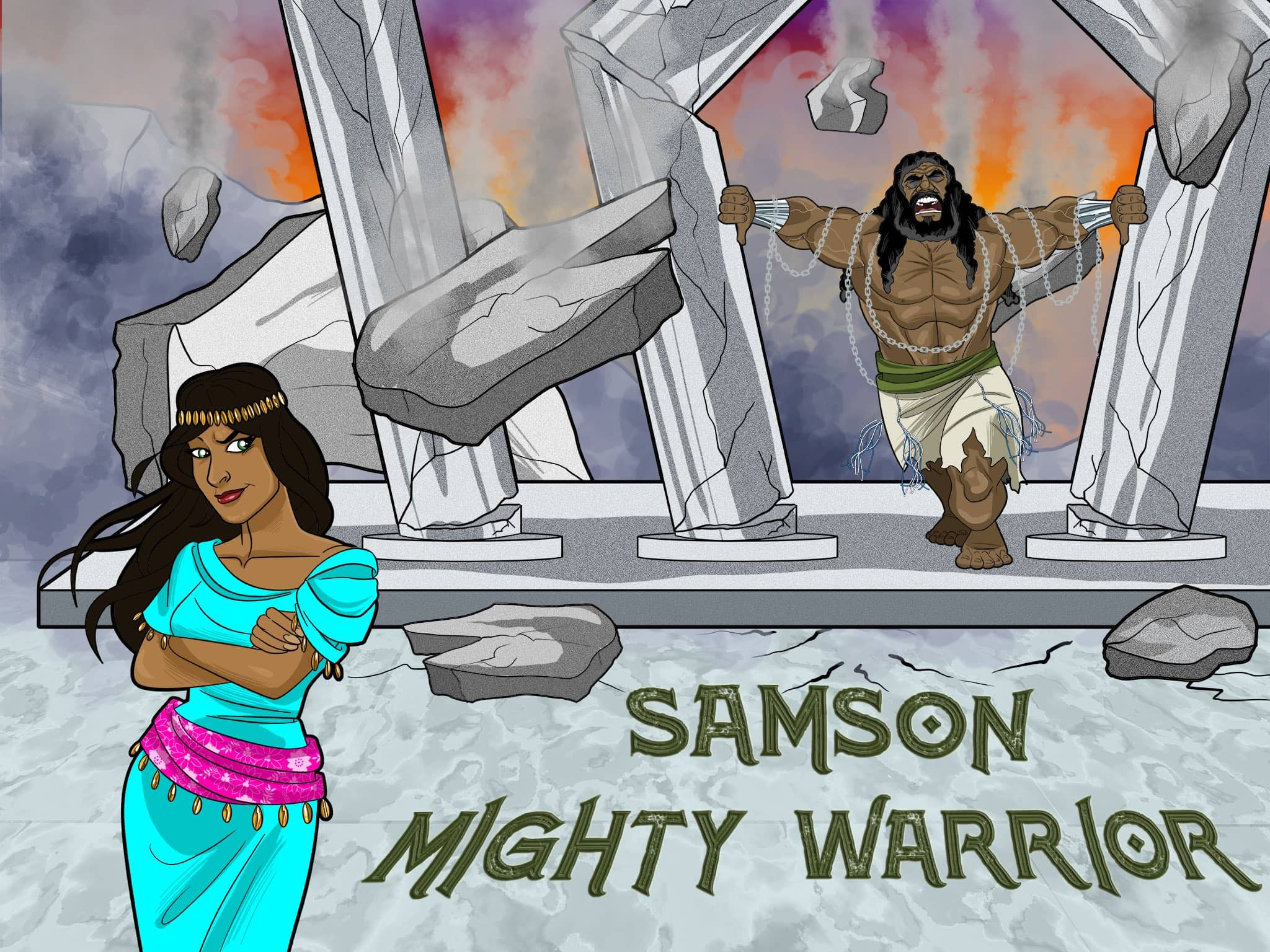 Samson Bible Story Amp Lesson Plans