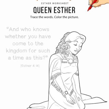 14 Esther Bible Pathway Adventures