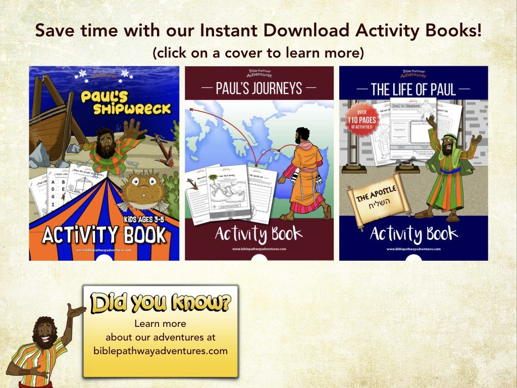 Shipwrecked Bible Pathway Adventures