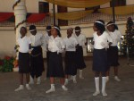 Choreography during Children Programme under Confab