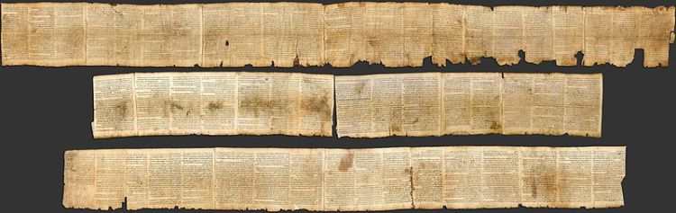 Great Isaiah Scroll, 1Qlsa(a) (Wikimedia Commons)