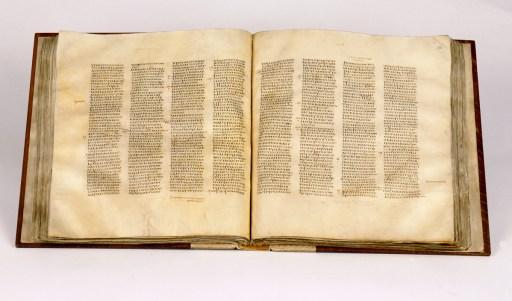 Codex Sinaiticus (© CodexSinaiticus.com)