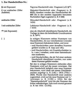 Kurzgefasste Liste der griechischen Handschriften des Neuen Testaments, entry for Papyrus P52