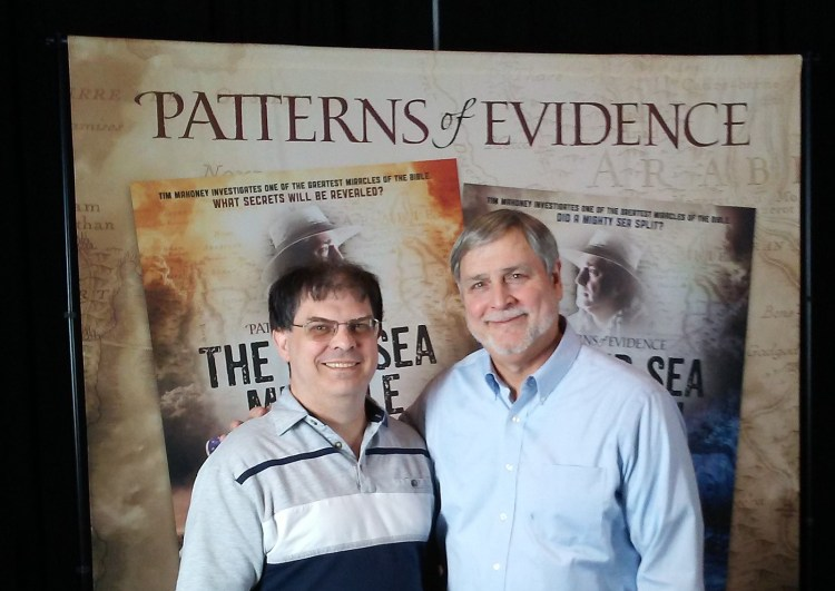 Red Sea Miracle - Paul Gibson and Filmmaker Tim Mahoney
