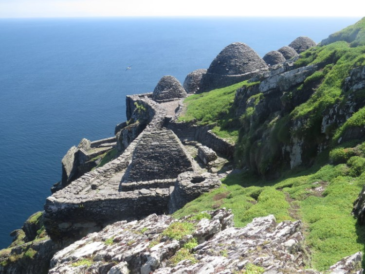 Monastery on Skellig Michael (© SkelligIslands.com)