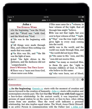 NKJV Study Bible Screen Shot