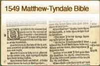 1549 Matthews Tyndale Bible