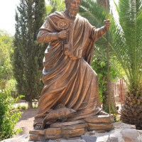 34. Hike the Bible – Peter of Capernaum 8 – Statue