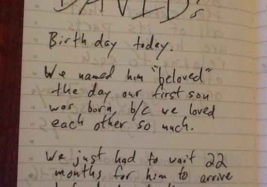 Beloved David