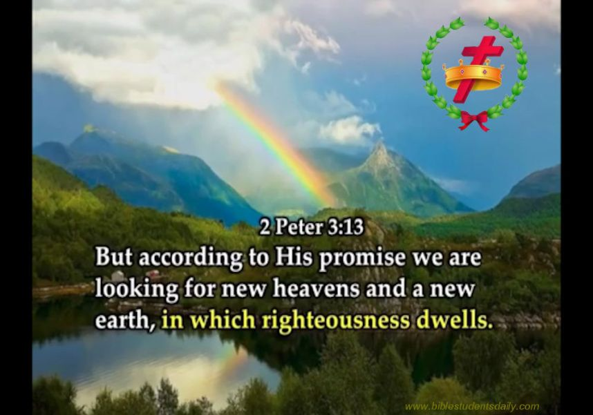 2 peter 3. 13 -with address