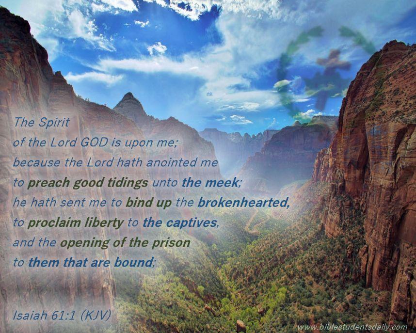 ISAIAH 61, 1