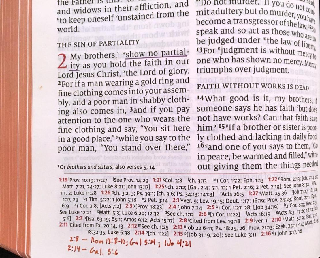 Handwritten Cross-references