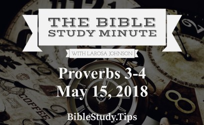 Bible Study Minute