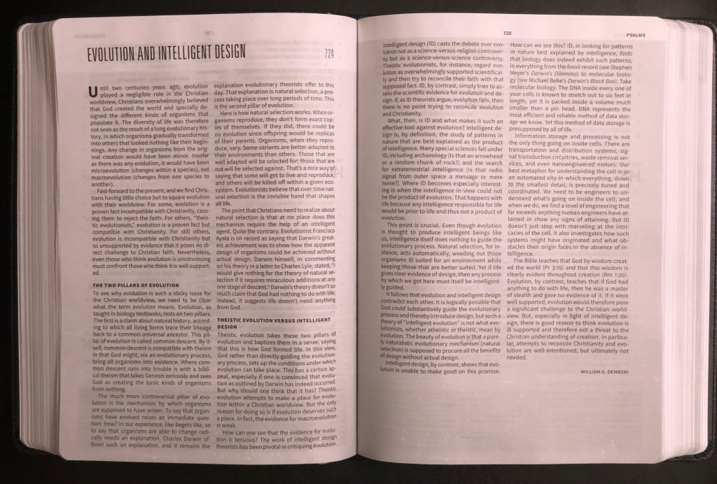 Articles in the Worldview Study Bible