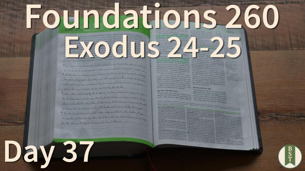 F260 Bible Reading Plan - Day 37