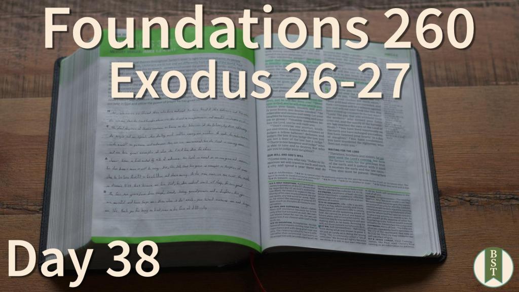 F260 Bible Reading Plan - Day 38