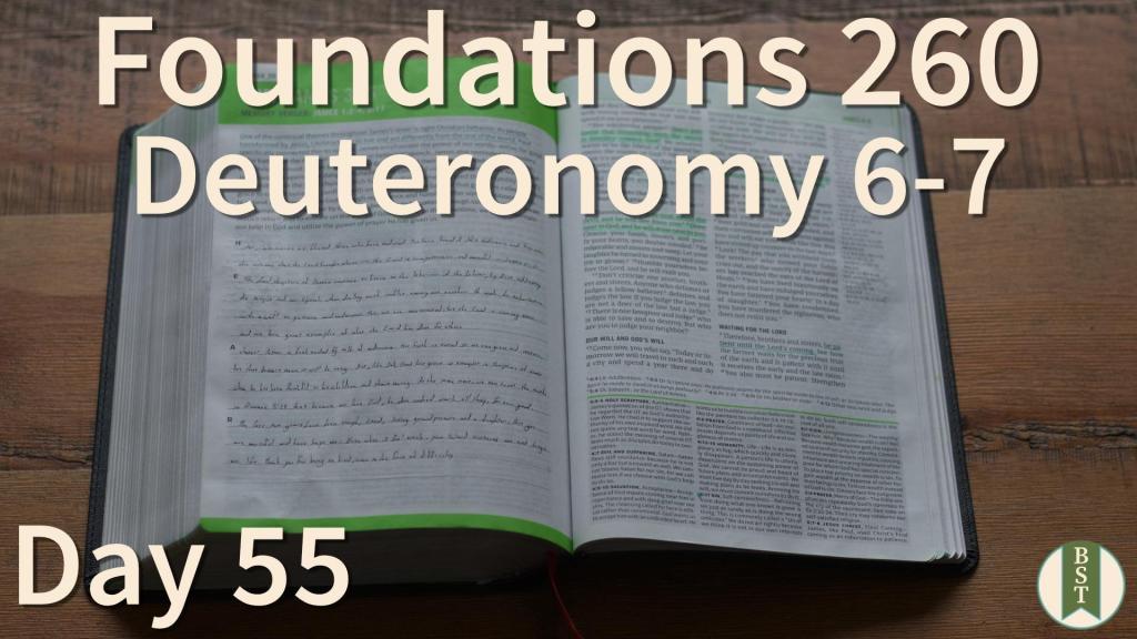 F260 Bible Reading Plan - Day 55