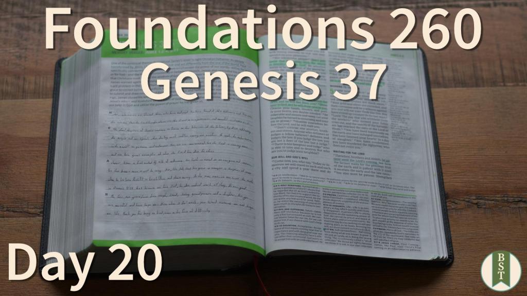 F260 Bible Reading Plan - Day 20