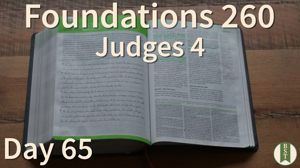 F260 Bible Reading Plan - Day 65