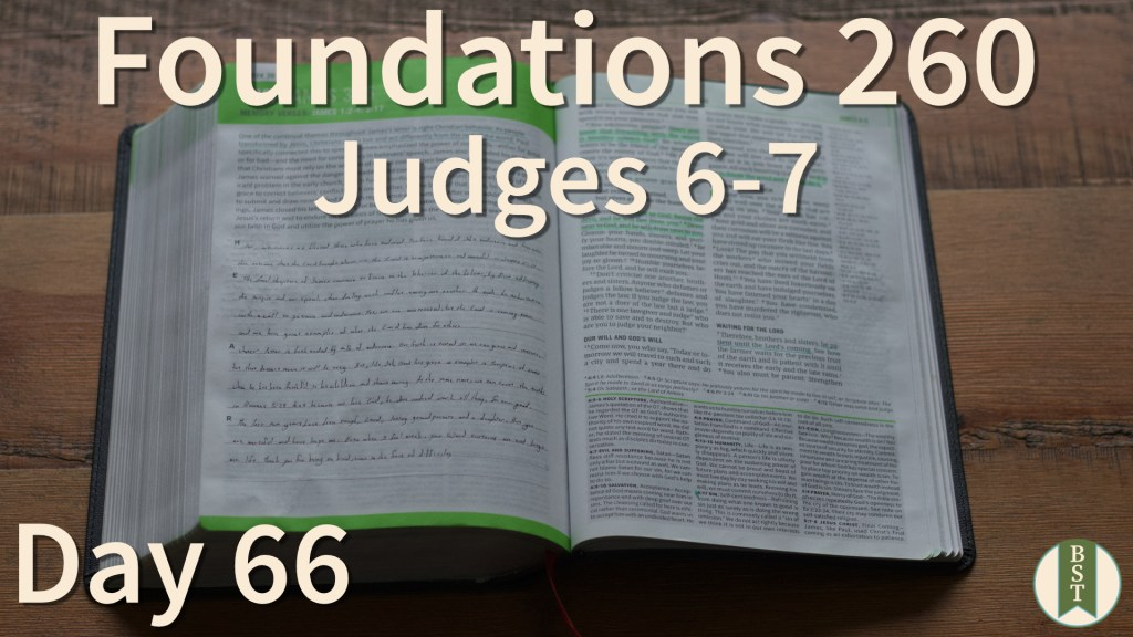 F260 Bible Reading Plan - Day 66