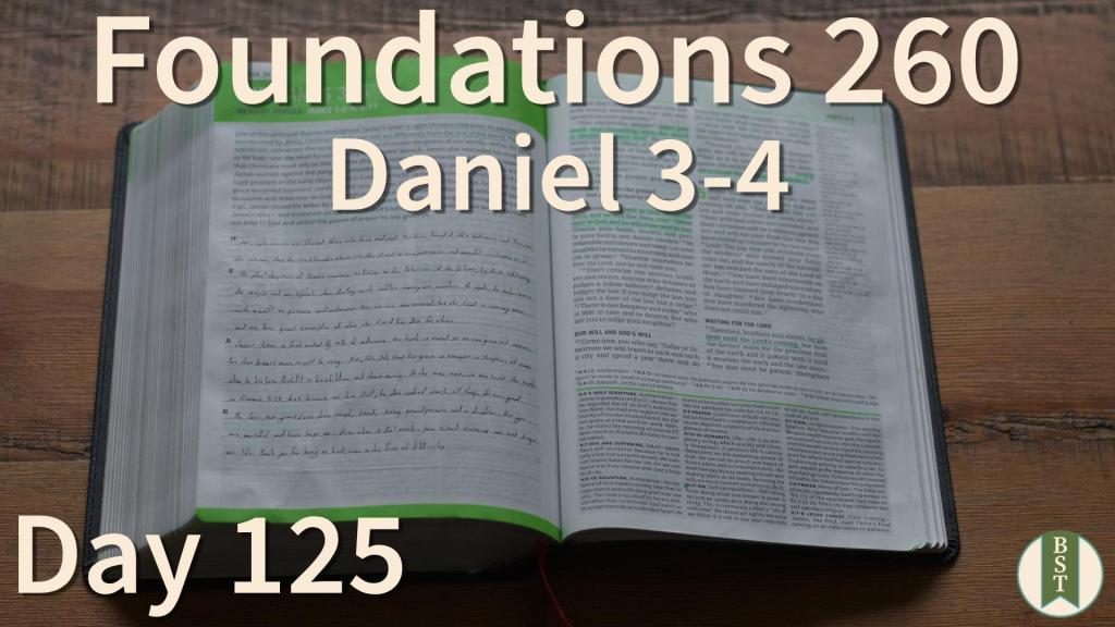F260 Bible Reading Plan - Day 125