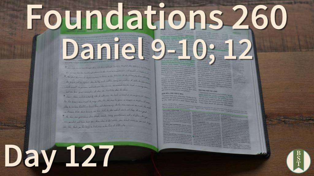 F260 Bible Reading Plan - Day 127